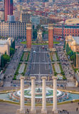 Barcelona Montjuic Royalty Free Stock Image