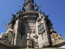 Barcelona' monument Royalty Free Stock Images