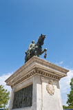 barcelona monument prim spain Royaltyfri Bild