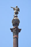 Barcelona. Monument to Christopher Columbus Stock Image