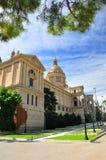 Barcelona museum. royalty free stock photo