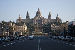 Barcelona museum Royalty Free Stock Images