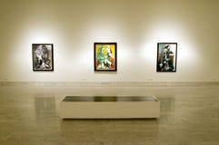 barcelona museum picasso Royaltyfri Bild