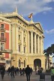 Barcelona nadbrzeże. Catalonia. Hiszpania Obrazy Stock