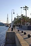 Barcelona nadbrzeże. Catalonia. Hiszpania Obraz Royalty Free