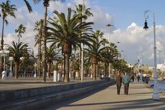 Barcelona nadbrzeże. Catalonia. Hiszpania Fotografia Stock