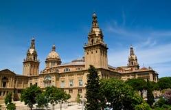 Barcelona National Palace Stock Photography