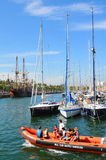 Barcelona Nautical Club Stock Photo
