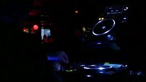 Barcelona Night Disco Party Sala Apolo stock footage