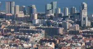 Barcelona north seaside view Stock Photo