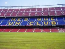 barcelona obozowy nou stadium Obrazy Royalty Free