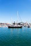 barcelona łodzi schronienie Obrazy Royalty Free