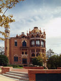 Barcelona old Hospital. Old hospital de la santa creu i Sant Pau in Barcelona. Designed by Louis Domenech i Montaner and built between 1901 and 1930. This Royalty Free Stock Photos