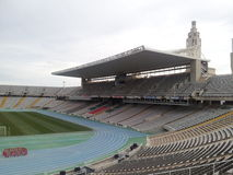 Barcelona olimpic stadium Stock Photos