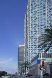 Barcelona Olimpic Villa buildings skyscrapers Stock Image