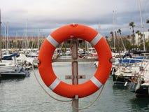 Barcelona Olimpijski port Obrazy Royalty Free