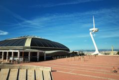 Barcelona, Olympic city Stock Image