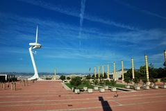 Barcelona, Olympic city Stock Photo