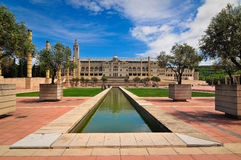 Barcelona Olympic Montjuic - Spain Royalty Free Stock Images