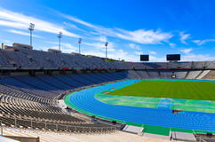Barcelona. Olympic stadium Royalty Free Stock Images