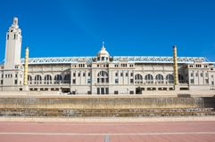 Barcelona Olympic Stadium Royalty Free Stock Photos