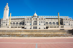 Barcelona Olympic Stadium Royalty Free Stock Images