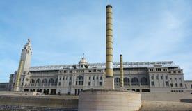 Barcelona Olympic stadium Stock Photography