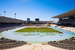 Barcelona Olympic Stadium Royalty Free Stock Photography
