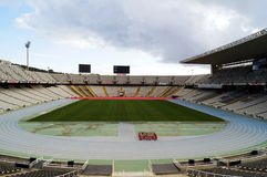 Barcelona Olympic Stadium Royalty Free Stock Image