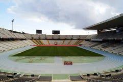 Barcelona Olympic Stadium Royalty Free Stock Image