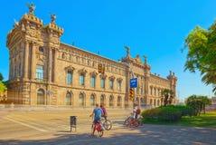 Barcelona państowa agencja dla podatek administraci, podatek agencja Agen Zdjęcie Royalty Free