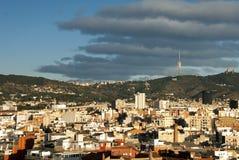 Barcelona - panorama Royalty Free Stock Photos