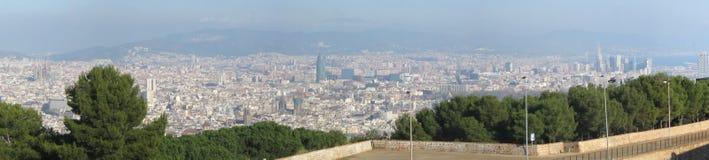 Barcelona panorama Stock Image