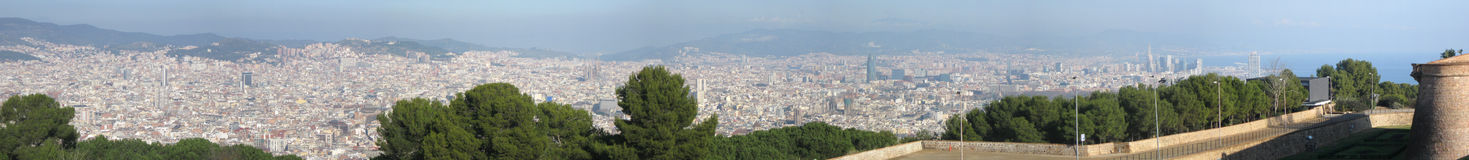 Barcelona panorama Stock Photo