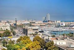 barcelona panorama Zdjęcie Stock