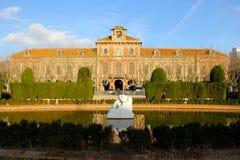 Barcelona Parc de la Ciutadella Imagem de Stock