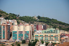 Barcelona from the Parc Guell Stock Photography