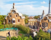 Barcelona,  Parc Guell Royalty Free Stock Images