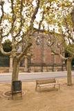 barcelona park obraz stock
