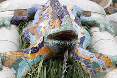 Barcelona, Park Guell Stock Image