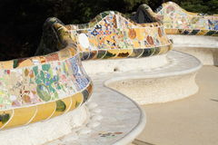 Barcelona, Park Guell Royalty Free Stock Images