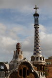 Barcelona, Park Guell Royalty Free Stock Photography