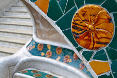 Barcelona - Park Guell Stock Photos