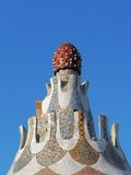 Barcelona: Park Guell, berühmter Park durch Gaudi Lizenzfreie Stockbilder
