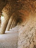 Barcelona: Park Guell, designed by Gaudi Royalty Free Stock Image
