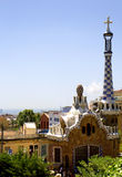 Barcelona. Park Guell. Royalty Free Stock Images