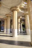 Barcelona. In the Park Guell Royalty Free Stock Photography
