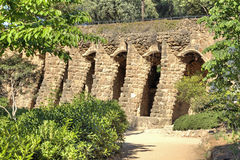 Barcelona. In the Park Guell Royalty Free Stock Images