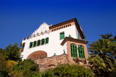Barcelona Park third resident of family Guell royalty free stock photos