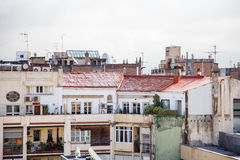Barcelona Patios Royalty Free Stock Images